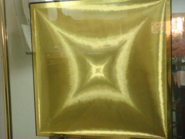 292: Four Framed Optical Illusion Foil Art Pictures: - 5