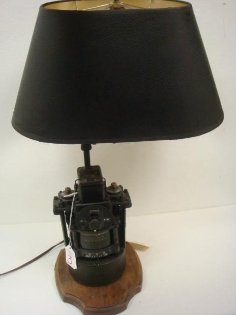 3: WWII Sherman Tank PIONEER Compass Lamp: