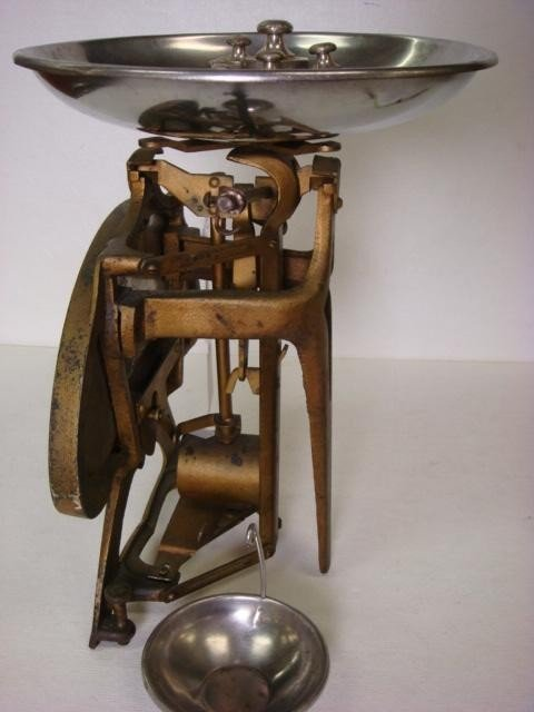 88: Vintage LINDELLS Balance Weight Scale from Sweden: - 3
