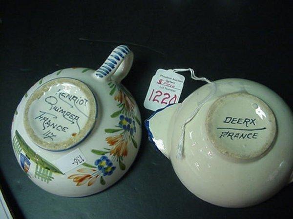 1220: Nippon Salt/Pepper, Quimper & Deerx Cup - 2