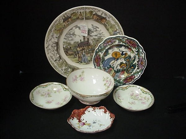 1222: Decorated Porcelains From Far & Near: J