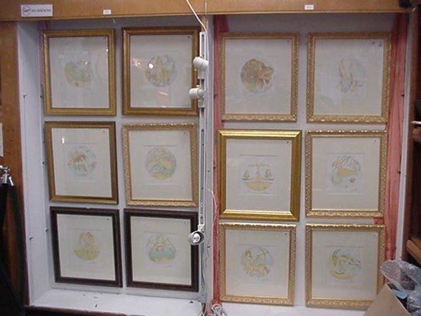 1329: Complete Dali Zodiac Collection, 12 Pen