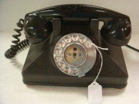 11: Vintage Bakelite Rotary Dial NORTHERN ELECTRIC Phon