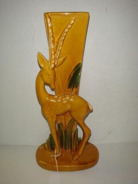 13: ROYAL HAEGER Antelope Vase: