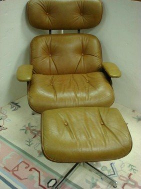 14: Button Tufted Swivel Chair with Ottoman: