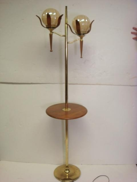20: Double Arm Lotus Blossom Lamp Table: