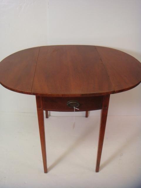89: MERSMAN Pembroke Single Drawer Drop Leaf Side Table - 4