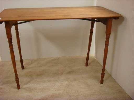 - 247: Vintage Folding Sewing Table: