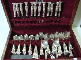 79 Pieces WALLACE Romance Of The Sea Sterling Flat