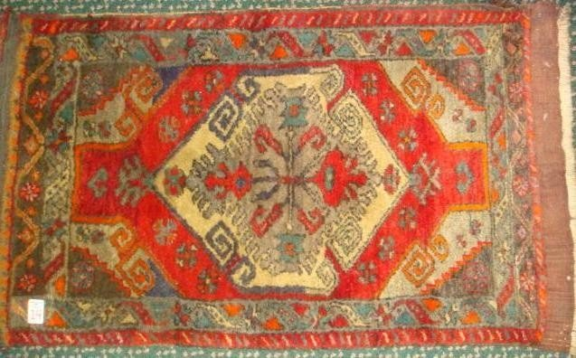 14: Antique Deep Pile All Wool Hand Loomed Persian Rug
