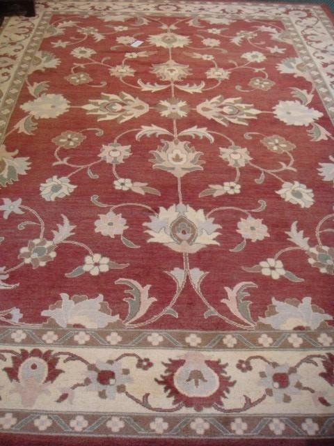 131D: Hand loomed Wool Chobi Rug: 5634