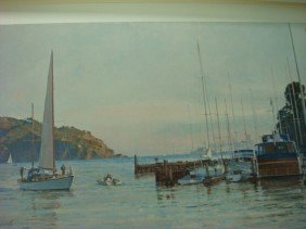 Signed/Numbered CHRISTOPHER BLOSSOM Print: