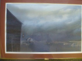 HERB JONES Tidewater Marsh Signed, Numbered Print: