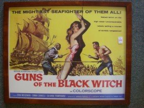 Movie Poster, GUNS OF THE BLACK WITCH, #61/341, 19