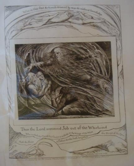 544: WILLIAM BLAKE Plate XIII from Blake Illustrations: