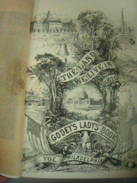 GODEY LADIES BOOK, VOLUME XCII, 1876: