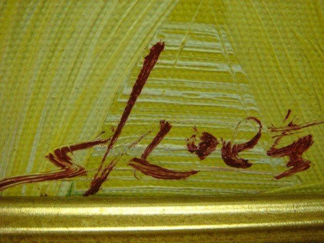 7B: Signed SKOETZ Femme Fatales Oil on Canvas: - 3