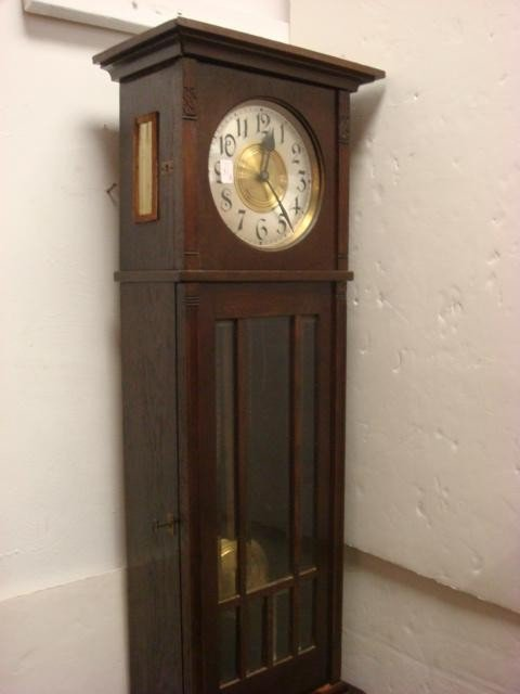 31A: PASCHENS GLOCKENGONG Grandfather Clock: