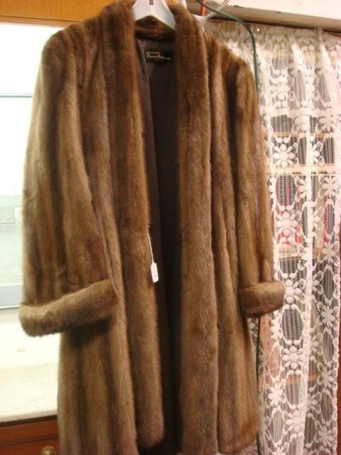 10: DANIEL ANTONOVICH Full Length Mink Coat:
