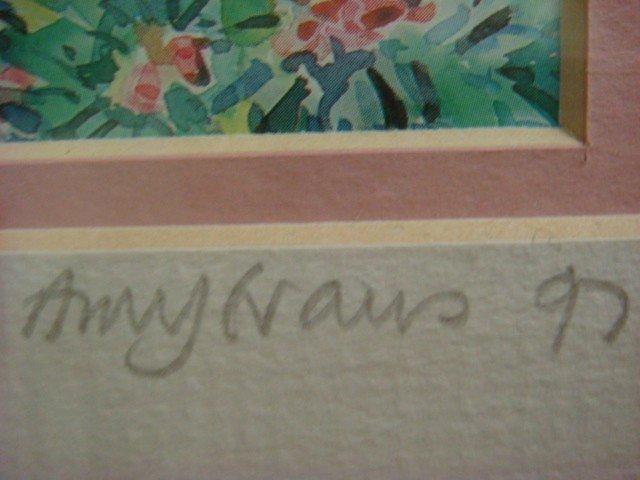 30: Signed AMY HAUS Bermuda Landscape Print: - 3