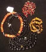 36: Assortment of Ladies Costume Jewelry Necklaces:
