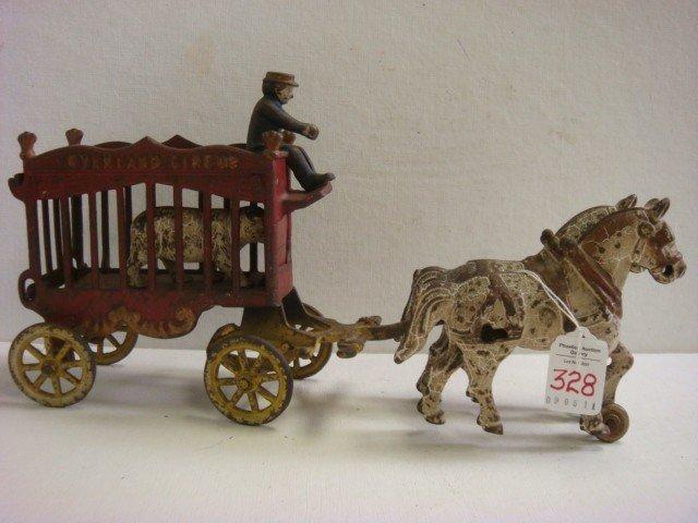 75: KENTON LOCK Toy Overland Circus Wagon: