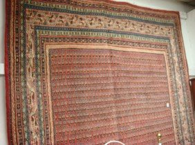 Handloomed Wool Persian Rug:2754