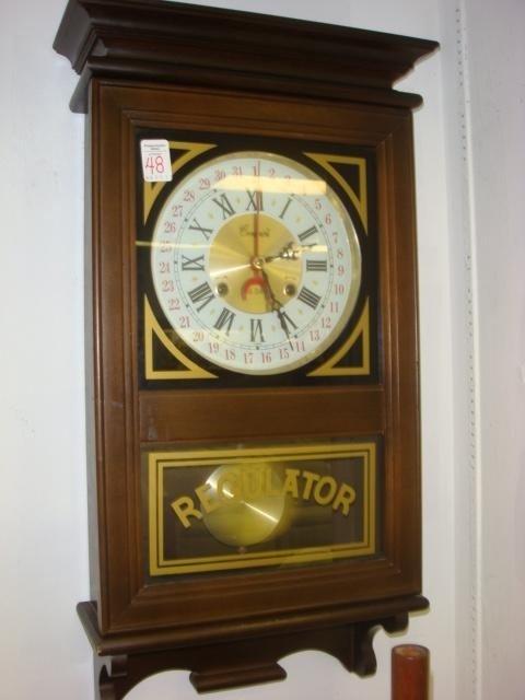 136: CENTURION 35 Day Regulator Wall Clock: