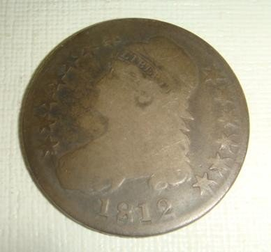 150: US Coin 1812 Capped Bust Half Dollar: