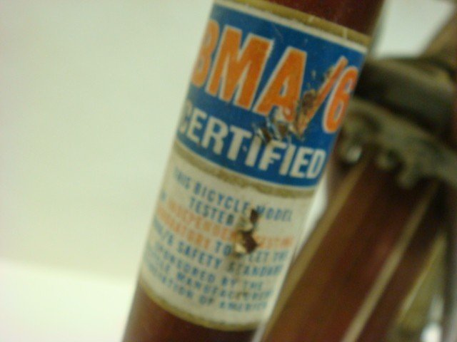 266: AMERICA FLYER BMA/6 Certified 1970's Boys Bike: - 3