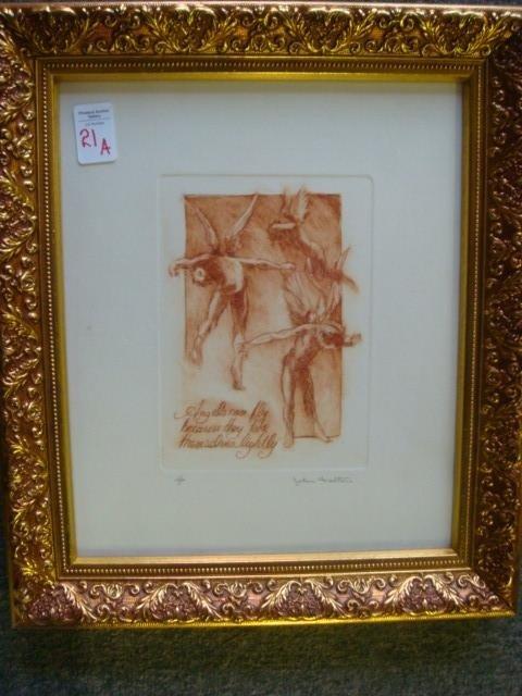 21A: Signed JOHN FULTON Artist Proof Print: