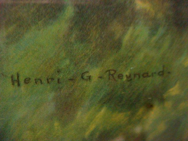 123: HENRI G REYNARD Framed Print, Love's Echo: - 3
