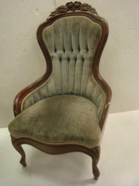 - 147: Mahogany CARLTON McCLENDON Victorian Ladies' Chair