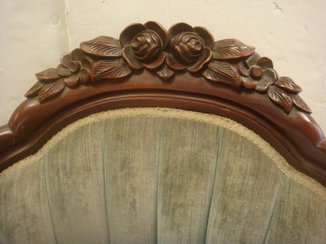 147: Mahogany CARLTON McCLENDON Victorian Ladies' Chair - 2