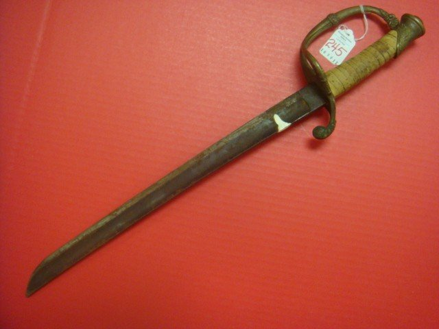 "245: CHUCK CONNERS ""Branded"" Sword, Civil War Era Sword"