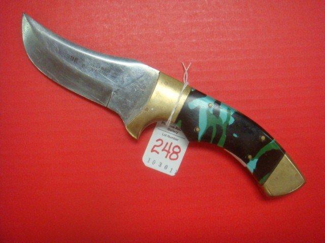 248: Scimitar Style Fighting Knife: