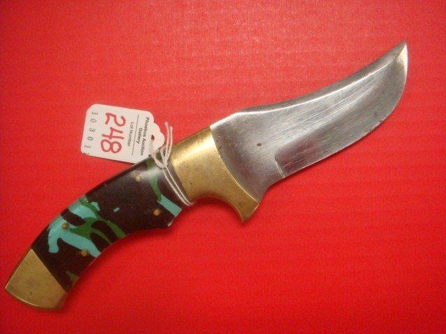 248: Scimitar Style Fighting Knife: - 3
