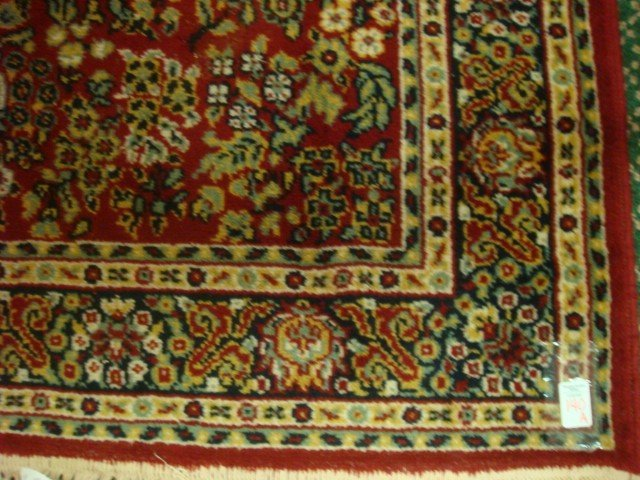 140A: ETHAN ALLEN Worsted Wool Oriental Style Rug: - 2