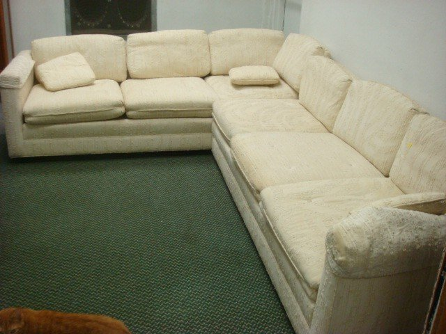 147: Two Piece Sectional SHERRILL Sofa: