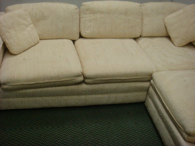 147: Two Piece Sectional SHERRILL Sofa: - 2