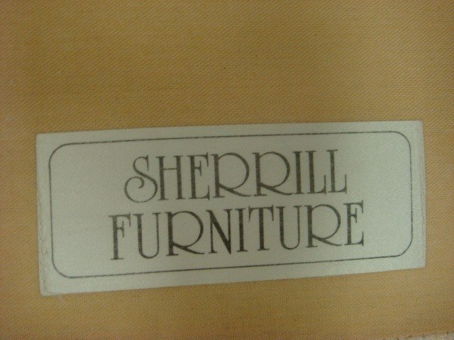 147: Two Piece Sectional SHERRILL Sofa: - 3