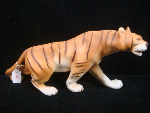5: ROYAL DUX Porcelain Bengal Tiger: