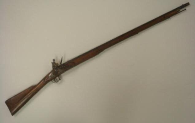 140A:: BARNETT LONDON Flintlock Indian Trade Gun/Musket