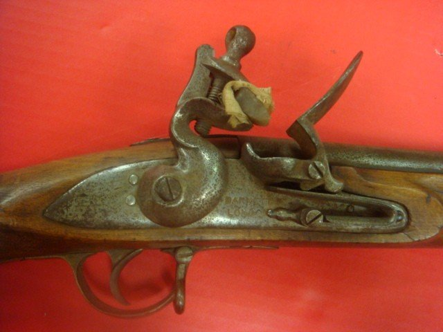 140A:: BARNETT LONDON Flintlock Indian Trade Gun/Musket - 2