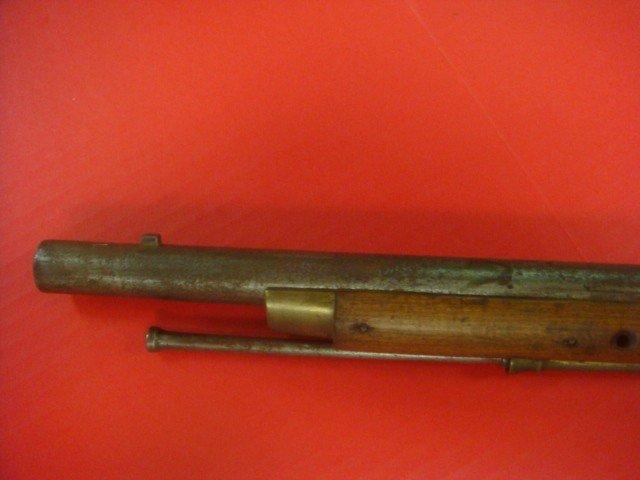 140A:: BARNETT LONDON Flintlock Indian Trade Gun/Musket - 6