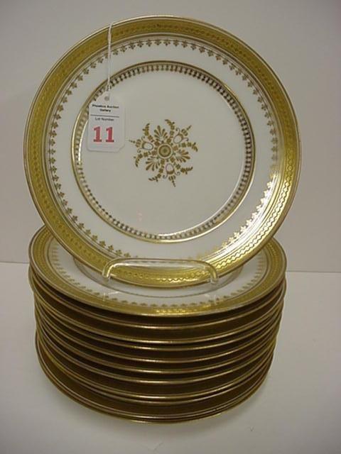 11: 12 L. Bernard & Co. D & C. French Plates: