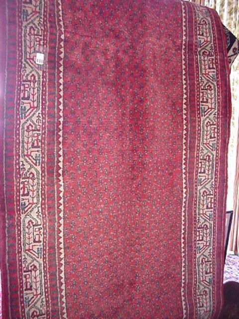 418: Hand Loomed Wool Iranian Botemir Runner: 40197