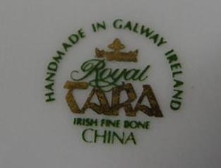 744: Royal Tara Irish Bone China Hunt Scene Planter: - 2