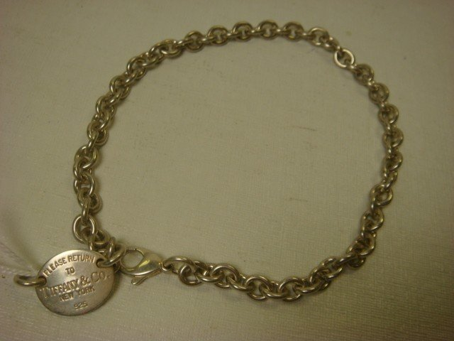 3: TIFFANY & CO Sterling Silver Necklace: