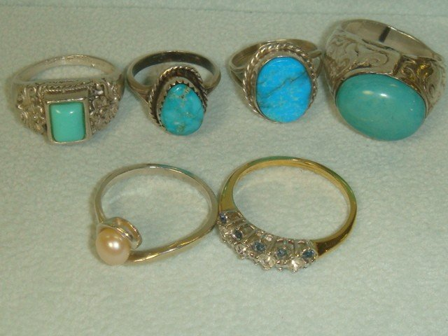 5: Ten Gold Filled and Sterling Rings: - 3